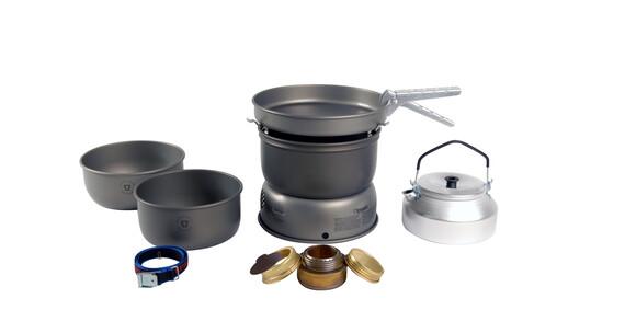 Set de hornillo Trangia 25-2 de ligero aluminio anodizado duro